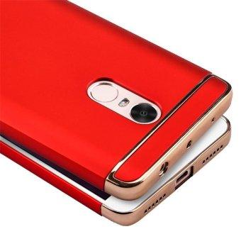 For Redmi Note 4 Hybrid 3 in1 Case Hard Plastic/PC matte Phone Case soft silicone/ TPU Phone Cover Shockproof Phonecase /Phone Protector for Redmi Note 4/ Redmi Note4/RedmiNote4/Red mi Note 4/redmi note4 - intl - 5