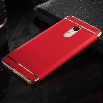 For Redmi Note 4 Hybrid 3 in1 Case Hard Plastic/PC matte Phone Case soft silicone/ TPU Phone Cover Shockproof Phonecase /Phone Protector for Redmi Note 4/ Redmi Note4/RedmiNote4/Red mi Note 4/redmi note4 - intl - 2