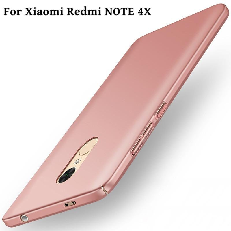 For Redmi Note 4X Ultra Thin Slim Hard PC Anti-knock ProtectionBack .