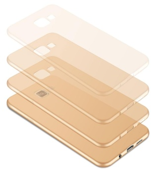 For Samsung Galaxy J7 Prime Ultra Slim Soft Silicone Phone Casewith Ring Holder/ Smooth Touch Protective Back CoverFingerprint-proof Phone Shell for Galaxy J7Prime - intl - 5