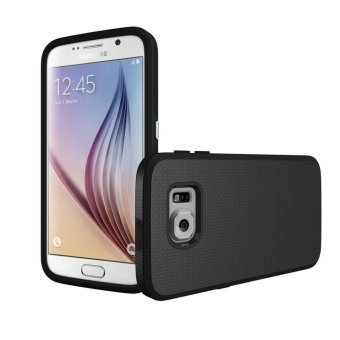 For Samsung Galaxy S6 G9200 Ultra Slim Anti-Slip Shockproof PhoneBack Case Cover (Black) - intl - 4