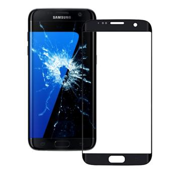 For Samsung Galaxy S7 Edge G935F G935 Black Screen Replacement Front Glass LCD Lens+tools+sticker - intl