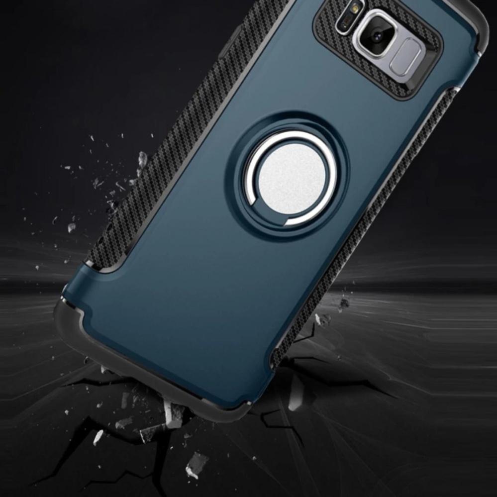 ... For Samsung Galaxy S8 Hybrid Armor Texture Case Anti-slipAnti-fingerprint Anti-scratch ...