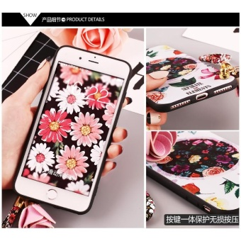 For VIVO V5(V5s)Soft Phone Casing Flower Case Fashion Phone Cover -intl - 3