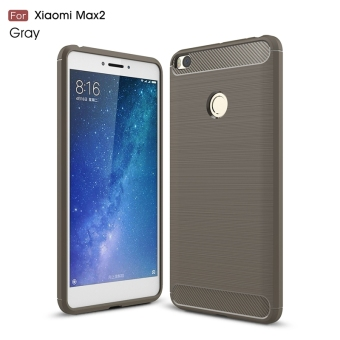 For Xiaomi mi Max 2 phone case soft carbon fiber cover Shell