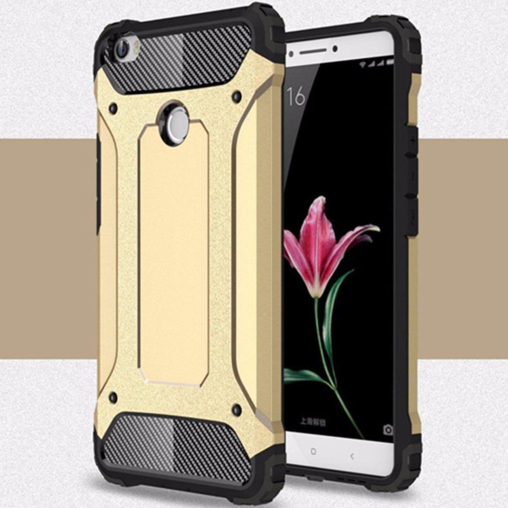 ... for Xiaomi Mi Max [Steel Armor] 2in1 Carbon Fibre Premium Soft TPU + Hard ...
