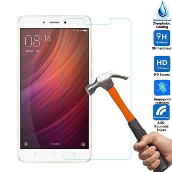 For Xiaomi Redmi 4X Clear Thin Tempered Glass HD Front Screen Protector Film Guard - intl