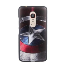 "For ZTE Nubia Z11 Max / NX523J 6.0"" inch Case Soft Silicon Coque 3DStereo Relief Painting Back Case Cover (Multicolor-1) - intl"