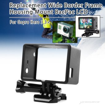 Frame Housing Mount BacPac LCD for Gopro Hero 3 3+