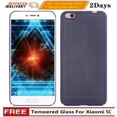 Case Flip Leather Cover For Xiaomi Redmi Note 3 Biru Dongker Source · Free Tempered Glass