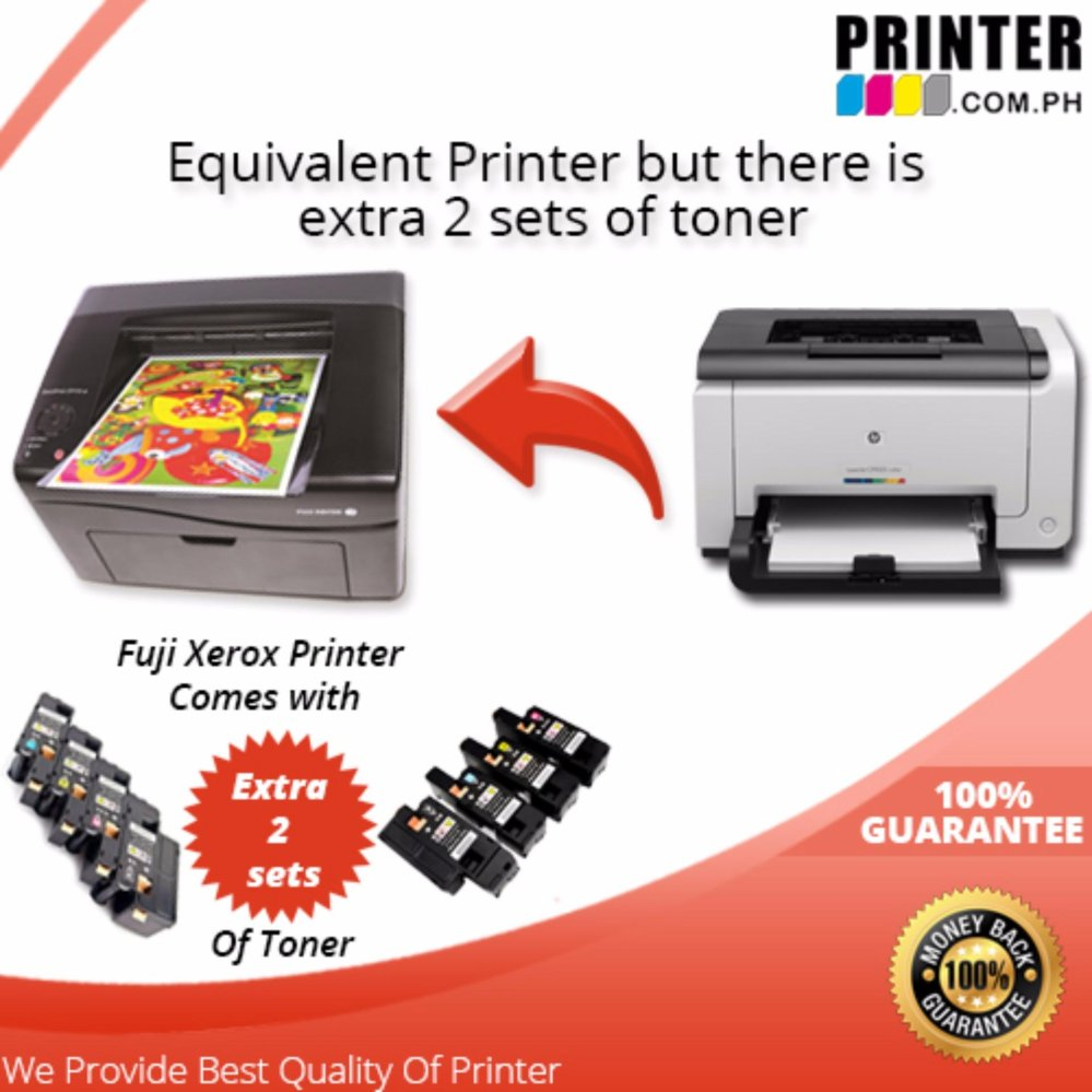 Philippines Fuji Xerox Cp115w Laser Printer Business Package Docuprint Includes Bundled Toner Set And Additional 2