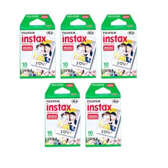 Fujifilm Instax Mini 10 Sheets Film 5 Packs