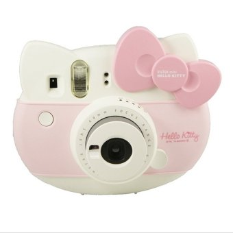 Fujifim Instax Instant Camera (Hello Kitty) with Free Lanyard,Hello Kitty Stickers and Hello Kitty Film