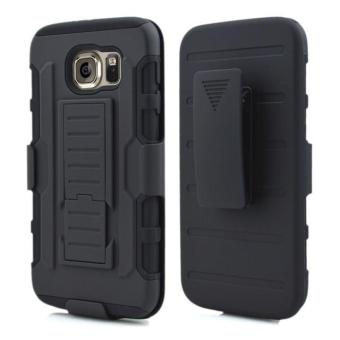 Full Body Shockproof Heavy Duty Rugged Case With Locking Belt Swivel Clip & Kickstand For Samsung Galaxy S6 (Will not fit Galaxy S6 Active, Galaxy S6 Edge, Galaxy S6 Edge Plus) - intl