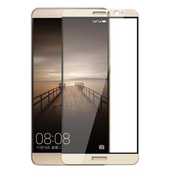 Full Cover Tempered Glass Screen Protector Guard for Huawei Mate 9 (Gold) - intl