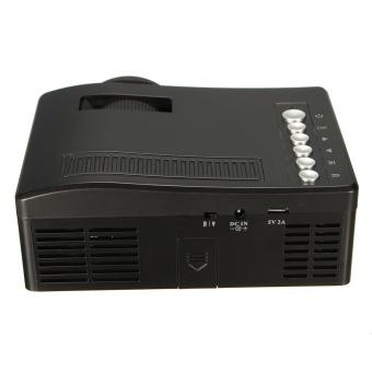 Full HD 1080P Input Multimedia Home Theater LED Mini Projector Cinema TV VGA MH - 4