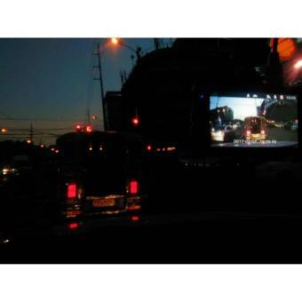 Full HD Dual Lens Car DVR Dash Camera (Black) - 4