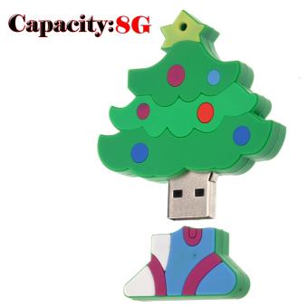 Funny Mini Christmas Tree Shaped 8GB USB 2.0 Flash Drive