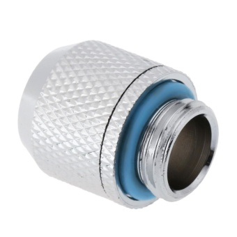 G1/4 External Fitting Thread for 9.5 X 12.7 mm PC Water CoolingSystem Tube(Silver)-Point - intl - 5