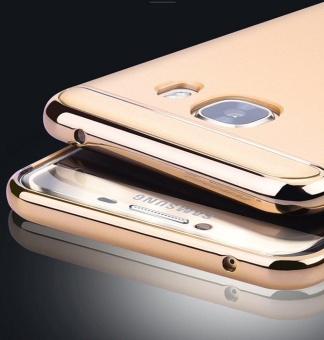 Galaxy C9 Pro Case 3 in 1 Hybrid Anti-slip Metal TextureElectroplated Painting Bumper + Matte Hard Back Cover Case forSamsung Galaxy C9 Pro / Galaxy C9 - intl - 4