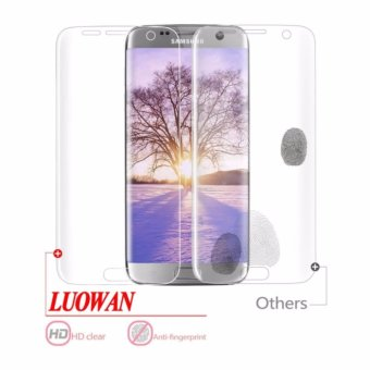 Galaxy S7 Edge Screen Protector, LucaSng [3-Pack][HD Ultra Clear Film] [Full Coverage] PET Screen Protectors - intl - 2