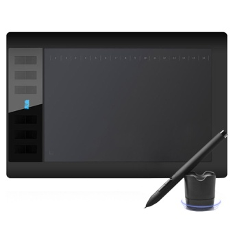 Gaomon 1060Pro Wacom Drawing Tablet for Drawing Graphic Tablet OSU USB Digital with Digital Pen - intl