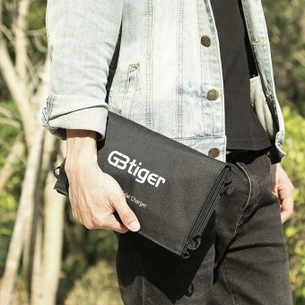 GBtiger 40W Dual Outputs Portable Sunpower Solar Charger Panel Water Resistant Folding Bag - intl - 5
