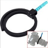Gear Ring Belt With Handle for Camera Follow Focus Zoom Lens - 4