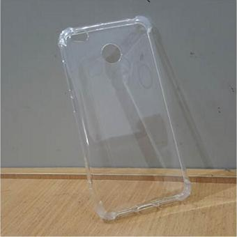German Import Shockproof Silicone Clear Case For Redmi 4X (Clear) - 3
