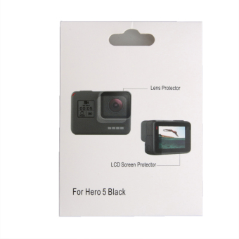 Go Pro Screen Tempered Glass Protective Film For GoPro Hero 5Camera Protector - intl - 4