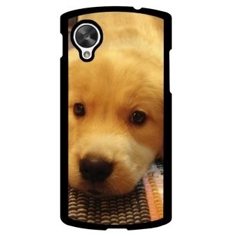 Golden Retriever Dog Pattern Phone Case for LG Nexus 5 (Multicolor)