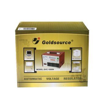Goldsource SVC-2000N Automatic Voltage Regulator 2000W AVR (Red) - 5