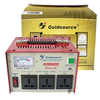 Goldsource SVC-500N Automatic Voltage Regulator 500W AVR (Red) Price Philippines