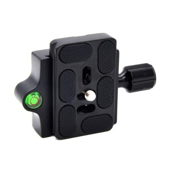 GOOD Professional KZ-20 Camera Tripod Monopod Quick Release Clamp Adapter Plate Black - intl - 2