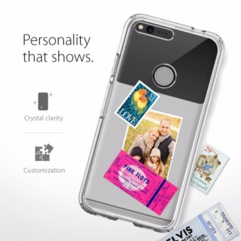 Google Pixel XL Case Ultra Hybrid Crystal Clear - 4