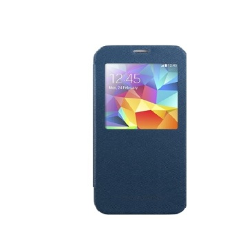 Goospery Wow Bumper View for Samsung Galaxy Note 4 (Navy)