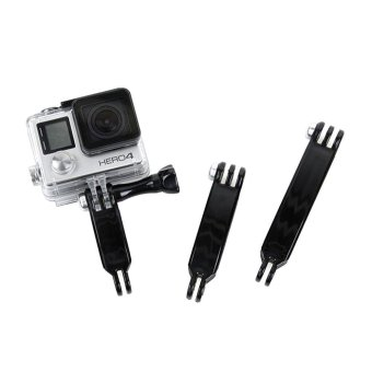 Gopro Accessories 3 in 1 Extension Arm Set Joints Mount For Gropro Hero 5 3+/3 4 Session SJCAM SJ4000 SJ5000 SJ6000 Xiaoyi 4K H9 - intl