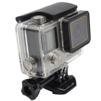 GoPro Accessories Go Pro 30M Replacement Waterproof Protective Skeleton Housing Case with Bracket for GoPro Hero 3+/4 - intl - 2