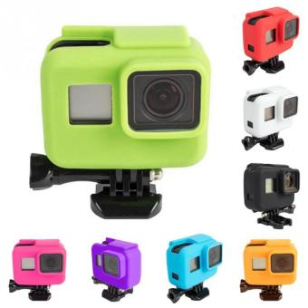 Gopro hero 5 Camera frame silicone case Cover Skin for Go pro Hero5 Protective Frame Soft Case Action Camera Accessories