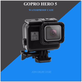 GoPro Hero 5/6 Black Out Waterproof case with Touch back door