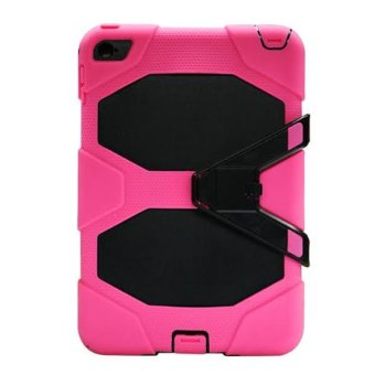 Griffin Survivor Military Hard Case for iPad Mini 4 (Black/Pink)