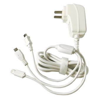 GUDI 3-IN-1 G-597 Smart USB FAST Charger 2.1 - 3