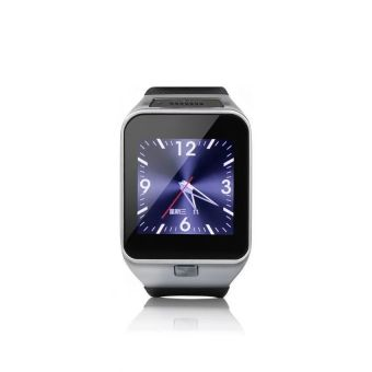 GV08 Smartwatch Quad Band 1.54 Inch Bluetooth BT Dialer Camera gt08 Smart Watch Phone (Black) - Intl - picture 2
