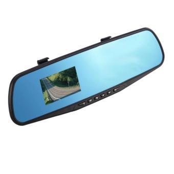 H-99 LCD HD Car DVR Car Camera Dash Cam Video Recorder RearviewMirror Vehicle DVR - 2
