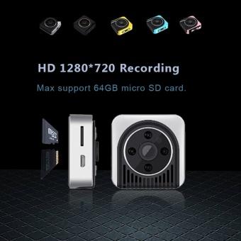 H5 Spied Camera Wifi IP 720P HD Mini Camera Wireless P2P Body Camera Night Vision Mini DV Camera Motion Sensor Micro Video Cam - intl - 2