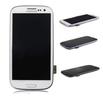 Happycat Replacement Touch Screen Digitizer for SamSung Galaxy SIII S 3 III i9300 (White) - 2