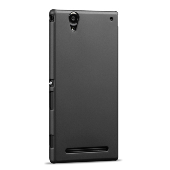 Hard Ultra Thin PC Snap-on Back Case Cover for Sony Xperia T2 Ultra- Black