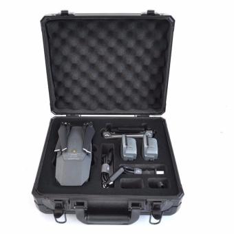 Hardshell Suitcase Waterproof Case Box for DJI Mavic Pro Drone ( Black ) - intl