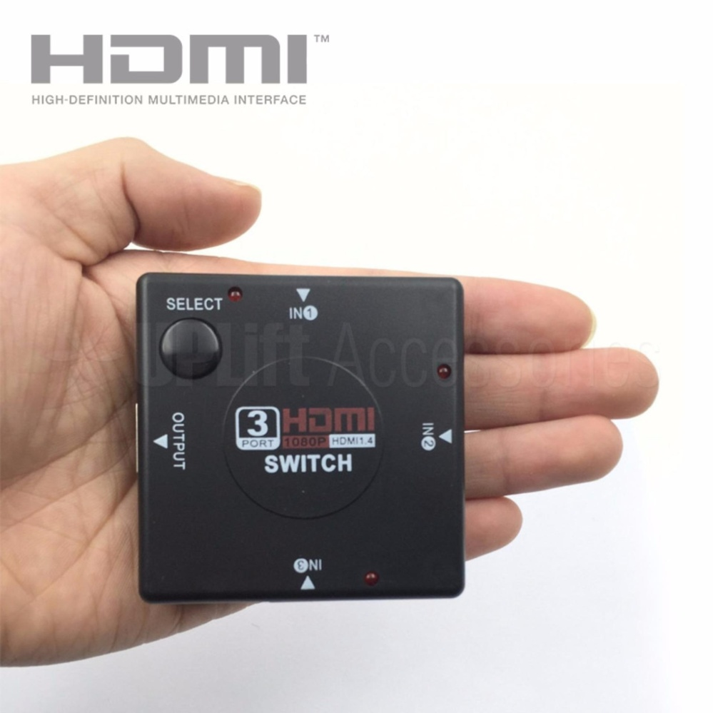 Philippines   HDMI 1x3 3-Way 1080p Switch Splitter Hub for HDTV, PC ...