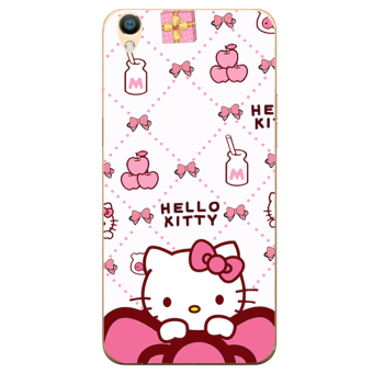 Hello Kitty oppor9/r9plus/f1plus cute cat girl's lanyard photo phone case